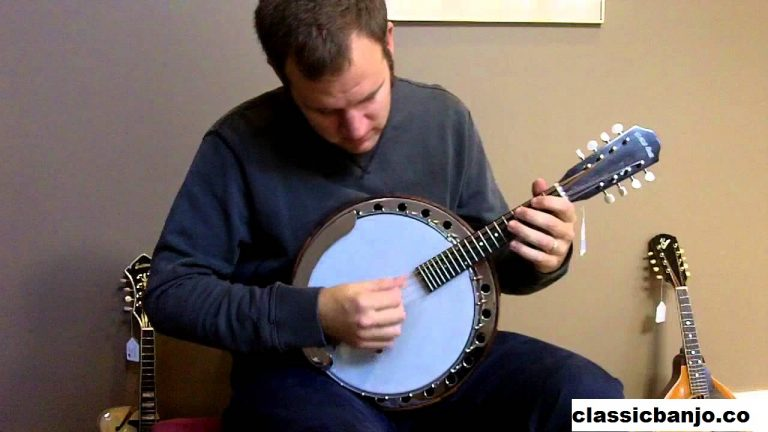 Mandolin-banjo Salah Satu Banjo Yang Berjenis Mandolin